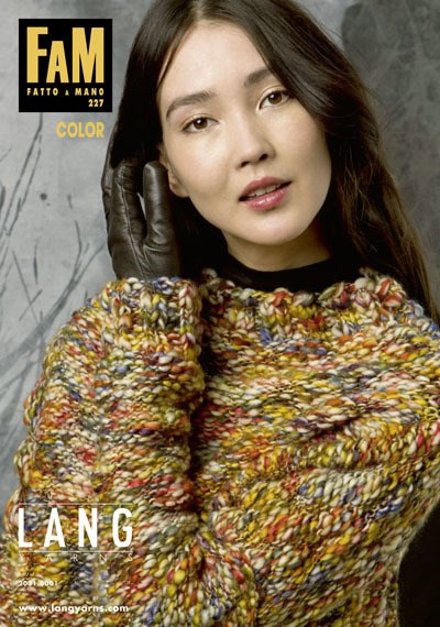 Lang Yarns magazine 227 color