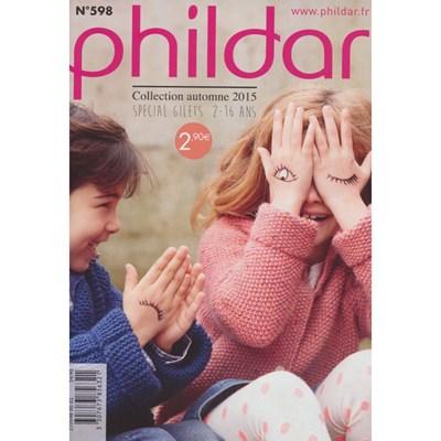 Phildar 598 - vesten en gilets 2-16 jaar