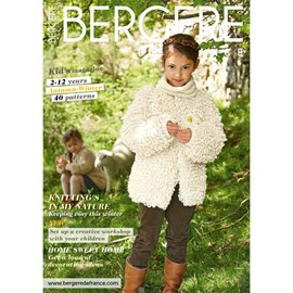 Bergere de France magazine 180 kids 2-12 jaar