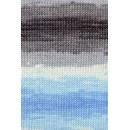 Lang Yarns Merino plus color 926.0079 licht blauw grijs