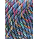 Lang Yarns Merino 50 color 799.0034 - blauw mix