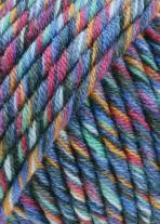 Lang Yarns Merino 50 color 799.0034 - blauw mix