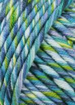 Lang Yarns Merino 50 color 799.0079 - blauw aqua mix op=op