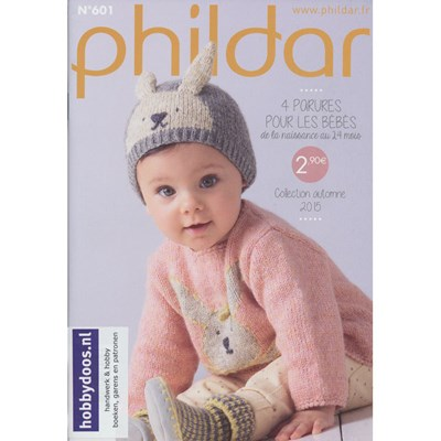 Phildar nr 601 baby in thema dieren