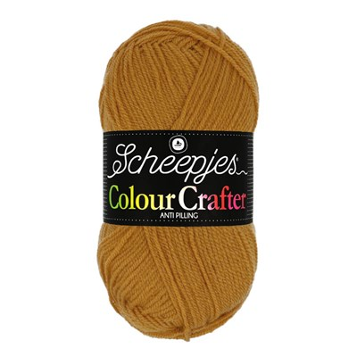 Scheepjes Colour Crafter 1709 Burum - geel goud