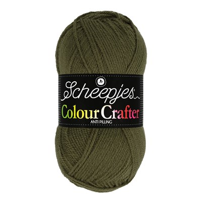 Scheepjes Colour Crafter 1027 Arnhem - groen donker