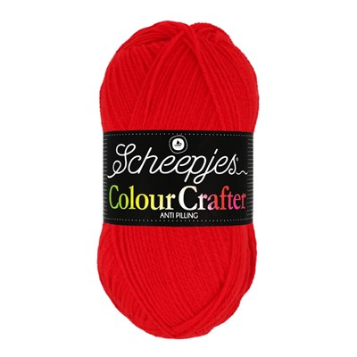Scheepjes Colour Crafter 1010 Amsterdam - rood