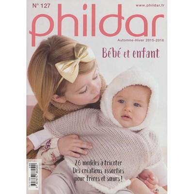 Phildar nr 127 kinderen 2015-2016 patroonblad op=op