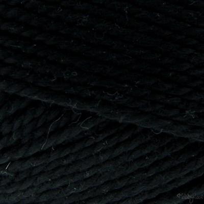 Coton 5 001 zwart - Lammy Yarns