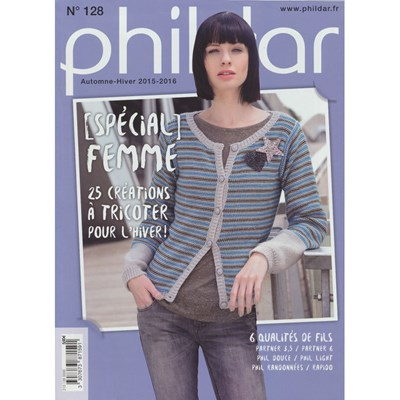 Phildar nr 128 vrouw 2015-2016 patronenboek