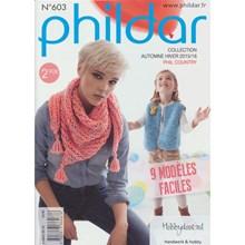 Phildar nr 603 8 eenvoudige modellen