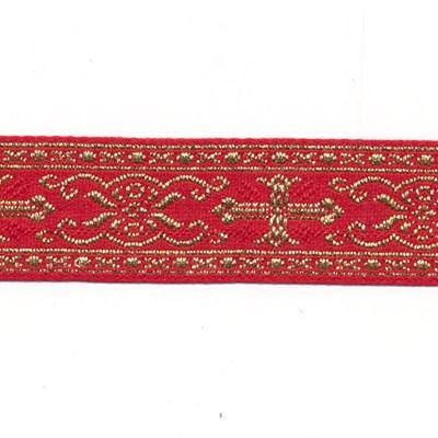 Band 42 mm sinterklaas - rood 1 meter