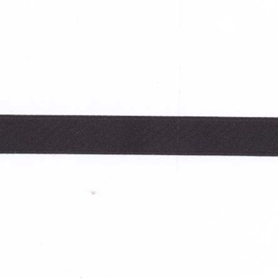 lint satijn 10 mm - 54352 zwart 1 meter