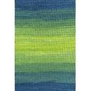 Lang Yarns Gamma colour 914.0044 groen blauw (op=op)