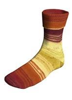Lang Yarns Super soxx color 8 draads 903.0010 rood/geel/oranje