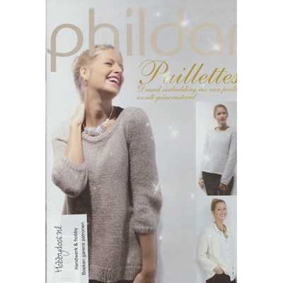 Phildar nr 582 3 modellen van Phil Paillettes