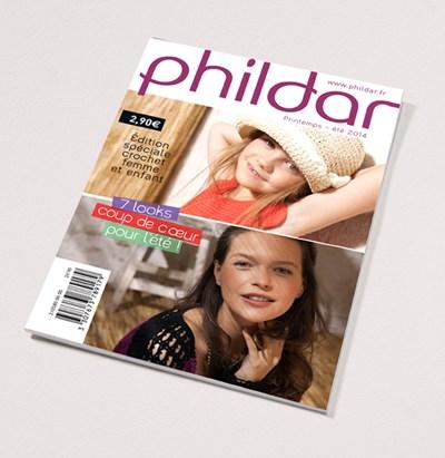 Phildar nr 580 7 haakmodellen