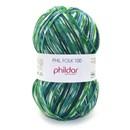 Phil folk 100 - 1001 meleze - groen blauw