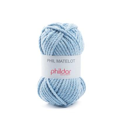 Phildar Phil matelot Bleuet op=op