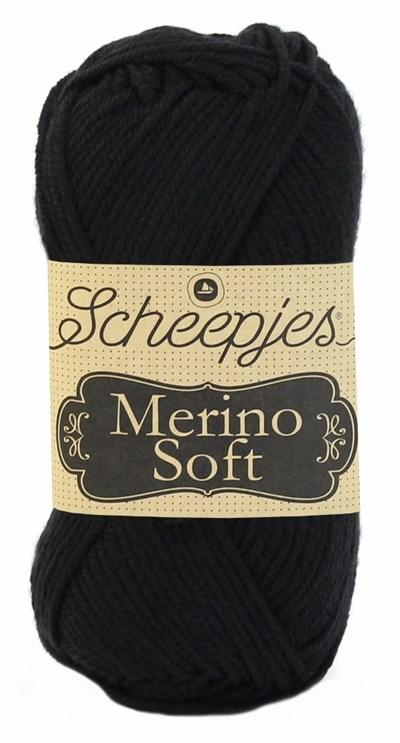 Scheepjes Merino soft 601 pollock - zwart