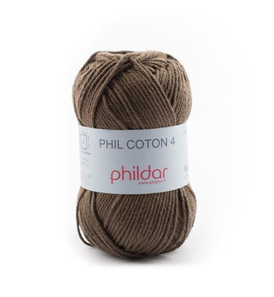 Phildar Phil Coton 4 Kaki 0089 - groen