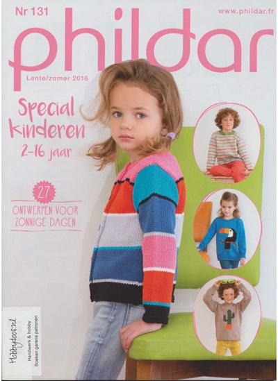 Phildar nr 131 lente en zomer 2016 speciaal voor kinderen 2 t/m 16 jaar (op=op)