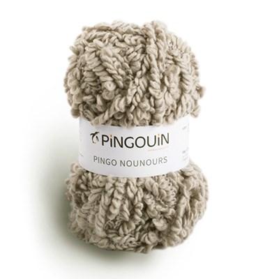 Nounours 0001 rocaille - Pingouin