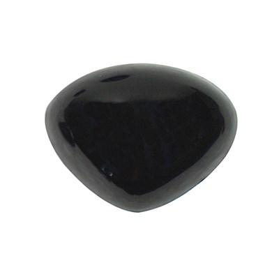 Neus 21 a 16 mm rond zwart 5 stuks