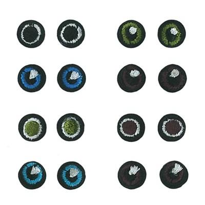 Applicatie oog rond 10 mm 8 paar