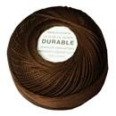 Durable borduur en haakkatoen 1012 bruin (op=op)