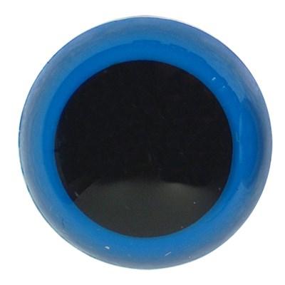 Ogen 6 mm blauw 5 paar