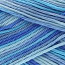 Lammy Yarns Rio multi 623 blauw