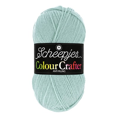 Scheepjes Colour Crafter 1820 Goes - blauw mint