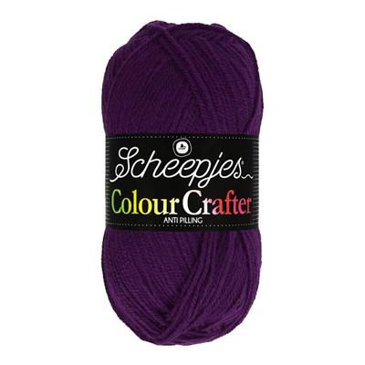 Scheepjes Colour Crafter 2007 Spa - paars aubergine