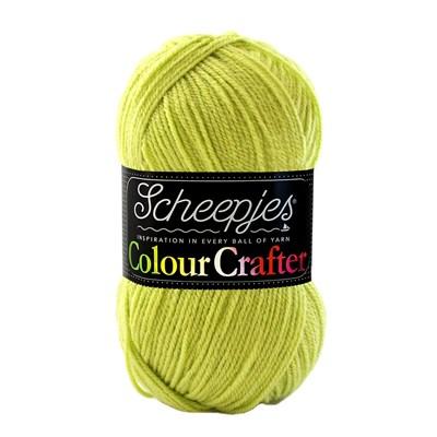 Scheepjes Colour Crafter 1822 Delfzijl - groen linde levertermijn onbekend