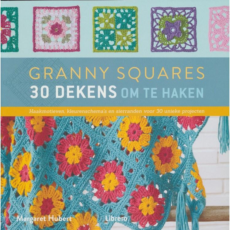 Granny Squares 30 Dekens Om Te Haken Hobbydoosnl