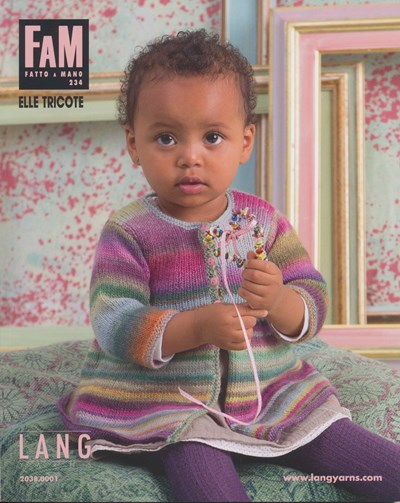 Lang Yarns magazine 234 baby en peuters