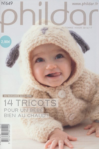 Phildar nr 649 14 patronen babykleding (op=op)