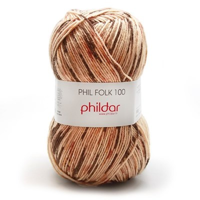 Phildar Phil folk 100 - 1106 Guepard op=op