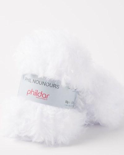 Phildar Phil Nounours Blanc