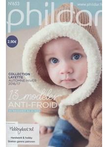Phildar nr 653 13 patronen babykleding