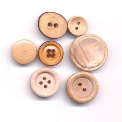 Knoop 18 mm hout gebrand