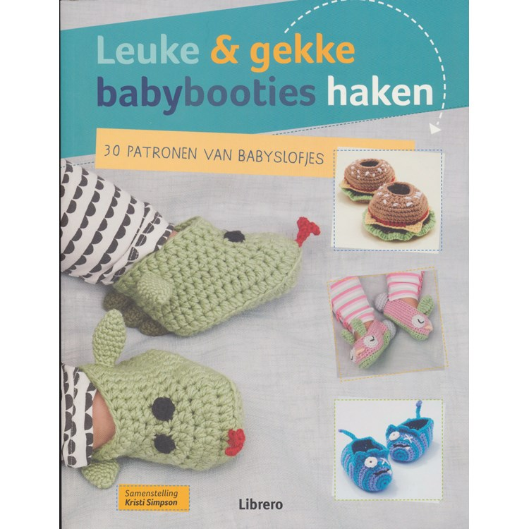Leuke En Gekke Babybooties Haken Hobbydoosnl