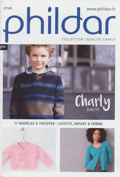 Phildar nr 648 Charly 17 modellen