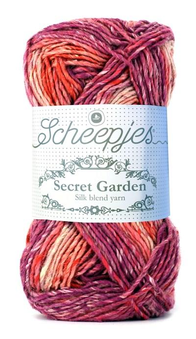 Scheepjes Secret Garden 708 Rose Arch rood-fuschia
