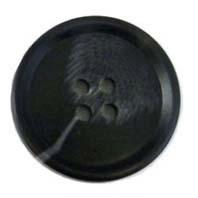 Knoop 27,5 mm zwart 881