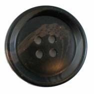 Knoop 27,5 mm bruin