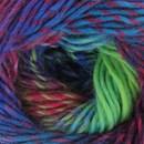 Lammy Yarns - Rainbow 903 blauw rood groen (op=op)