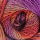 Lammy Yarns - Rainbow 906 oranje paars (op=op)