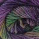Lammy Yarns - Rainbow 909 paars groen (op=op)